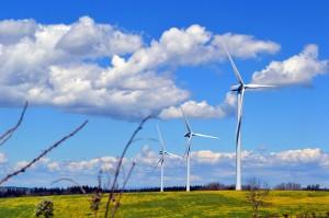 éolienne sur le Levezou